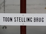 Onthulling Toon Stellingbrug - 2013
