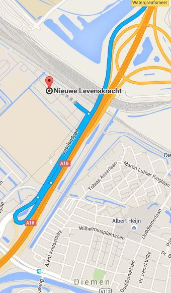 route A10 noord